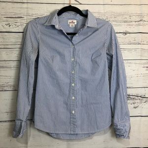 J. Crew Habadashery Oxford Button-up size xs